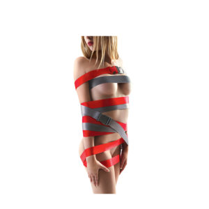 Strap-Ease XL Bondage Straps – 8 foot – Red